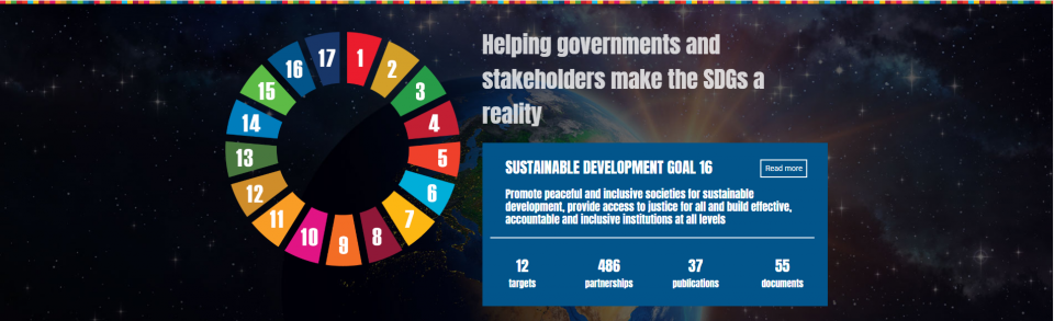 Helping Governments and Stakeholders make the SDGs a reality